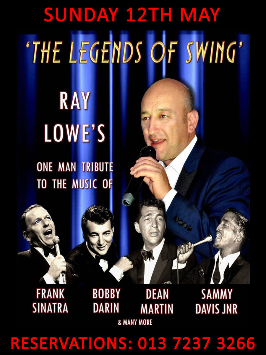 12th May – The Legends of the Swing